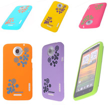 For HTC One X Case Hot Sale Silicon Rain Phone Protective Soft Cover Case For HTC One X S720e G23 Case