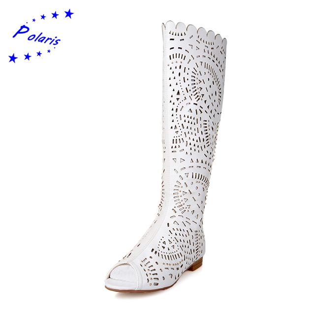 2016 Большой размер 34 - 43 женщин сандалии женщины летние сапоги мода квартиры сандалии ...