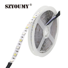 Buy SZYOUMY LED Strip 5M SMD 5050 RGBW Led Lighting 60leds/m Non Waterproof DC 12V RGBWW Led Strip Light for $110.00 in AliExpress store