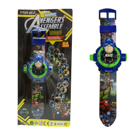 Wholesale 12Pcs Popular The Avengers projection tables 24 different patterns Children's Christmas Gifts TB105(China (Mainland))