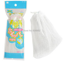 Free Shipping!Foaming net for handmade soap make bubbles use for wash face,shaving,wash hair(China (Mainland))