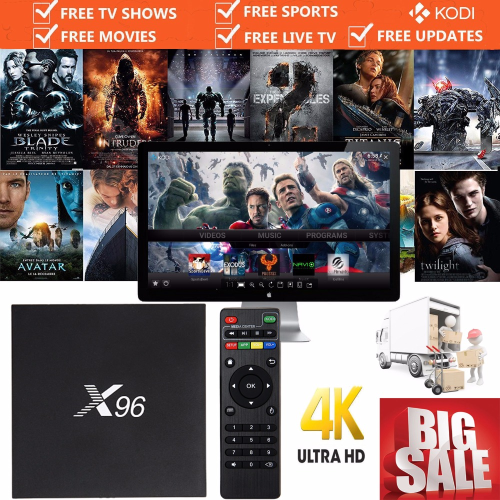X96 Android TV Box Amlogic S905X Quad Core 2/16G Smart TV Box 16.1 WIFI HDMI 2.0 4K 2K Smart Media A95X MX PRO Fully Loaded NEW(China (Mainland))