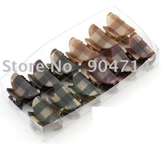 Acrylic hair Claw clip/S Size L4*W3cm/#10 style/kids hairband sets/children hair rings hairpin set(China (Mainland))