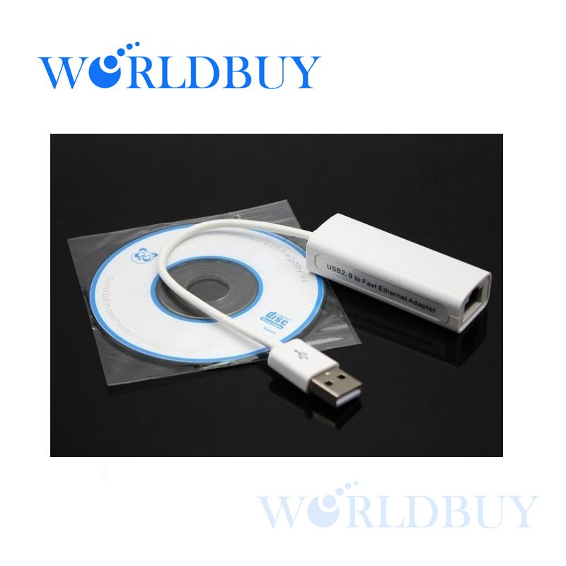 High Quality USB 2.0 to RJ45 LAN Network Fast Ethernet Adapter Card For Tablet PC Win7 Free Shipping UPS DHL HKPAM(China (Mainland))