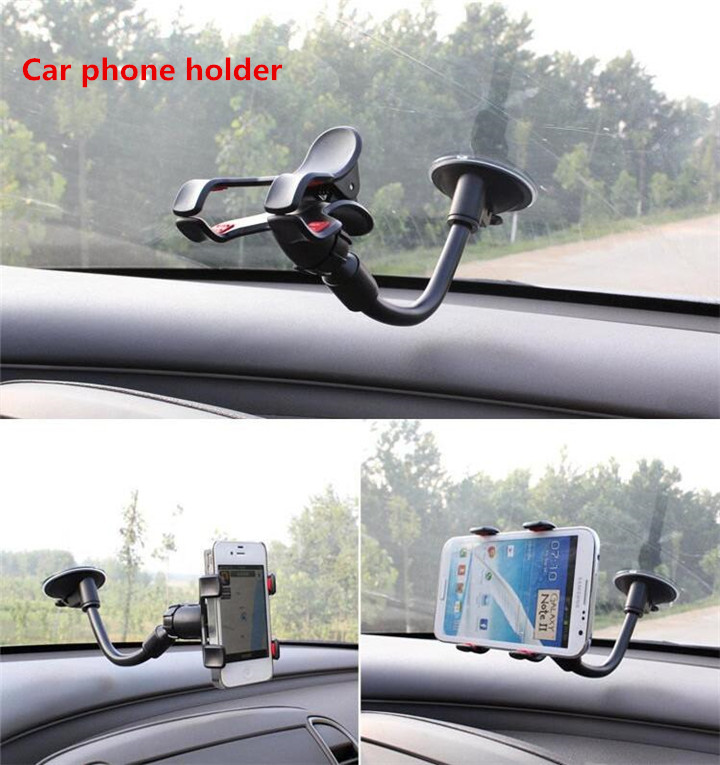Car holder Car window Windshield Mount Holder For iPhone 5 6 Plus for sony holder for GPS for samsung holder stand(China (Mainland))