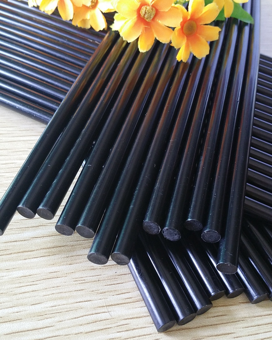 Black Green nontoxic  Hot Melt Adhesive/Glue Rods 7mm*270mm For Hot Melt Gun Car Audio Crafts  Assembly and repair Accessories<br><br>Aliexpress