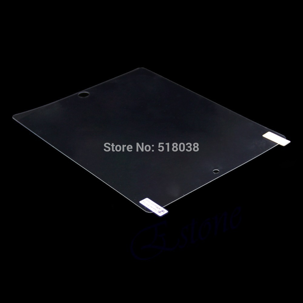 D19 hot selling newest Clear Anti Glare Screen Protector Cover Shield Film For Apple iPad 2