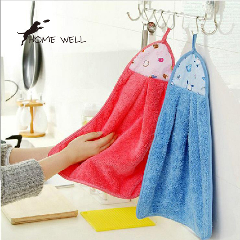 Unique Special design Absorbent Fabric Microfiber Kitchen Cleaning Bathroom Hand Towel Kitchen Cleaner New Arrival(China (Mainland))
