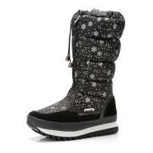 2019 Winter stiefel Hohe Frauen Schnee Stiefel plüsch Warme schuhe Plus größe 35 zu große 42 einfach tragen mädchen weiß zip schuhe weibliche heiße stiefel(China)