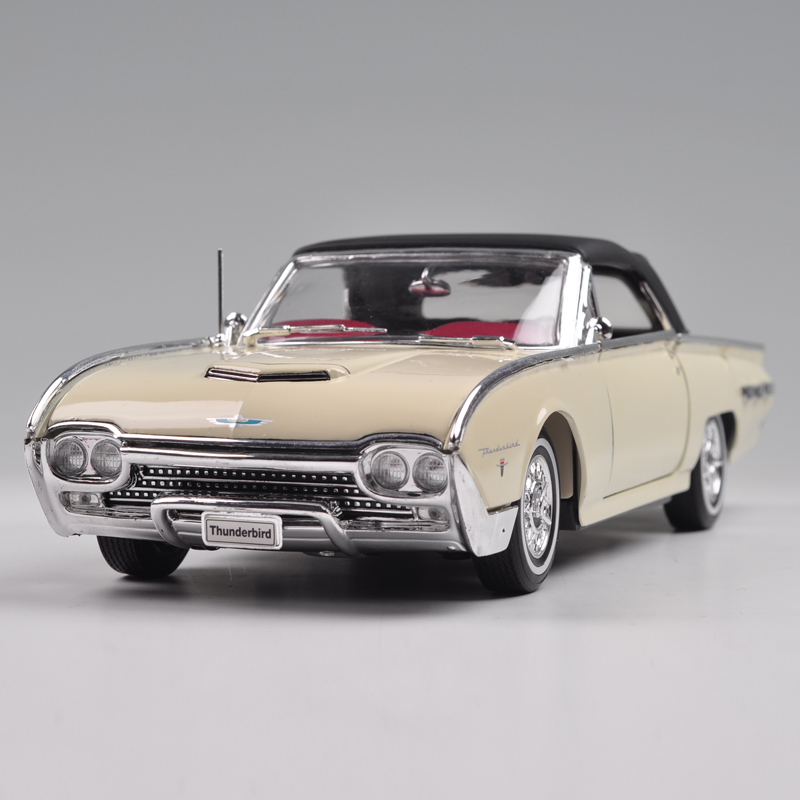 Brand New WELLY 1/18 Scale Car Model USA 1962 Ford Thunderbird Diecast Metal Car Model Toy For Collection/Gift/Kids/Decoration(China (Mainland))