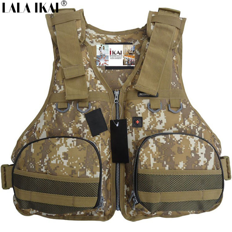 YIQ001-f Photography Vest Surfboard Outdoor Swimwear Camouflage Jackets Life Jacket Free Shipping Water Sport Survival Life Vest(China (Mainland))