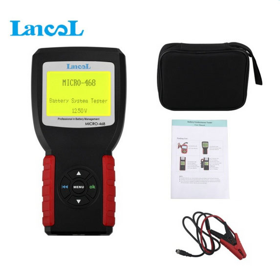 New Released MICRO-468 Battery Tester MICRO 468 Battery Conductance & Electrical System Analyzer 1 Year Warranty(China (Mainland))