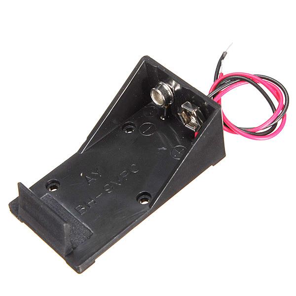JFYB,Single Wired Lead Battery Holder Case Box 9V 6LR61 x1 Model / DIY / Toy / RC UK(China (Mainland))