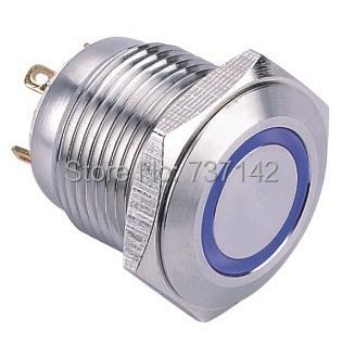 ELEWIND 16mm Ring illuminated momentary push button switch (PM161F-10E/J/B/2.8V/S)<br><br>Aliexpress
