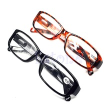 Z101- Free Shipping Comfy Reading Glasses Presbyopia 1.0 1.5 2.0 2.5 3.0 Diopter Black Brown New(China (Mainland))