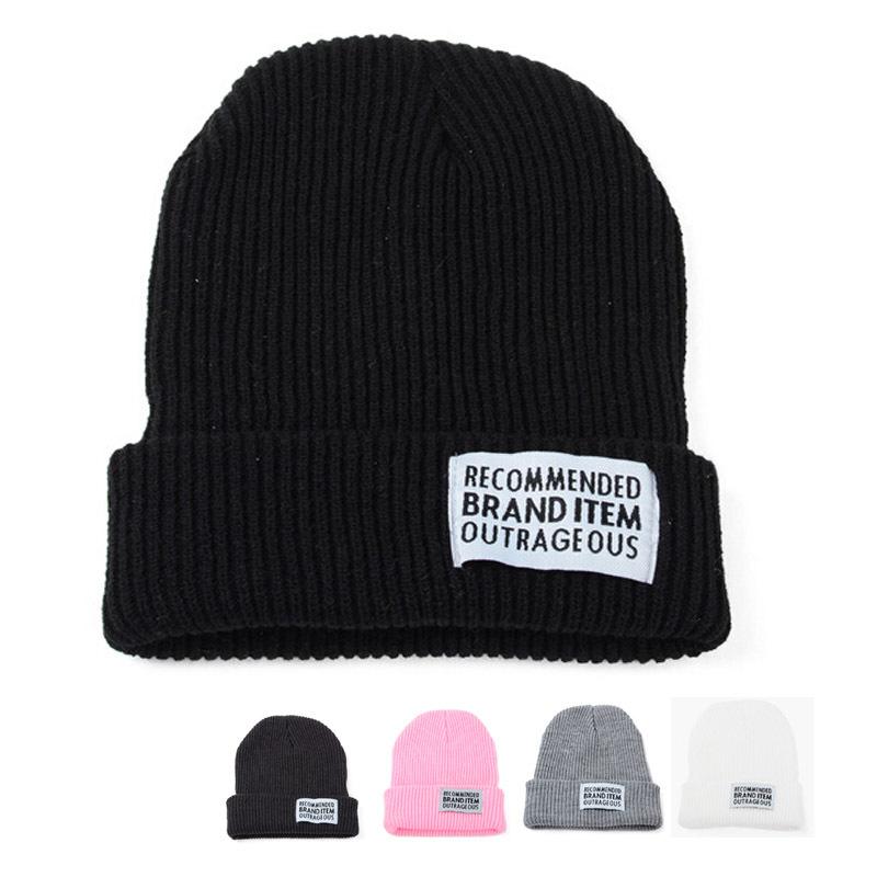 Winter Hat Women Men Beanies Cap Warm Soft Beanie Skull Knit Hats Solid Color Classic Caps - MY PRECIOUS store