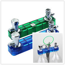 Hot Selling 1Pcs Blue or Green D501 DIY CO2 Generator Check Valve Planted Aquarium Kit Set Free Shipping(China (Mainland))