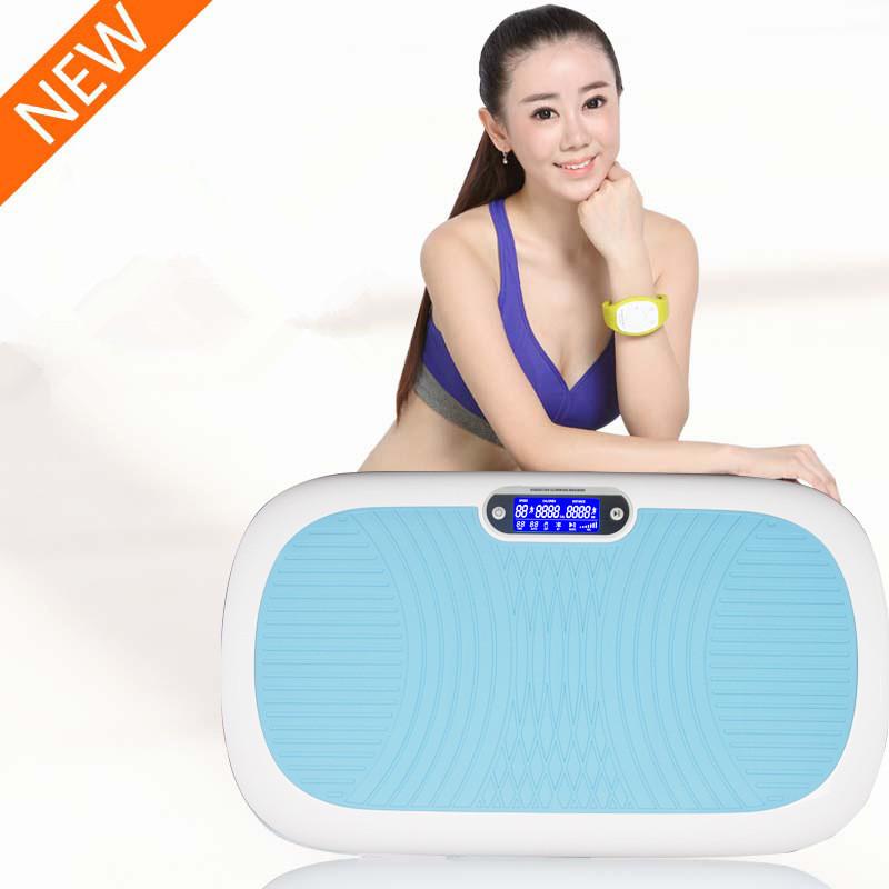 Popular beauty Body Care Crazy Fit Vibration Massage Plate Slender Fat Burning Power Slim Lose Weight Aerobic Exercise Machine(China (Mainland))