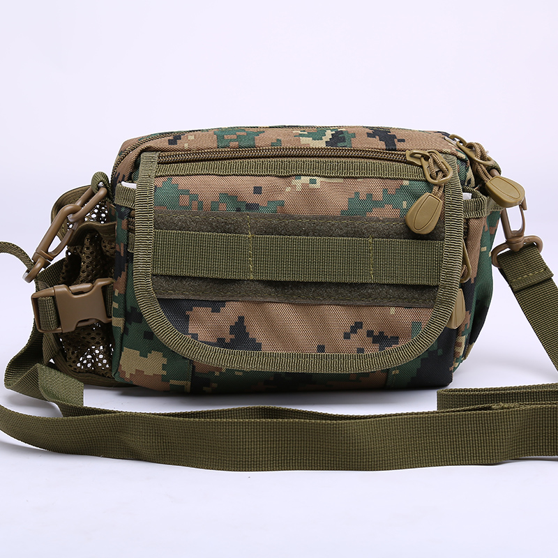 MOLLE Bike Bag vertical Outdoor Worn Riding Shoulder Tactical Sports Messenger bag free shipping ZZN1008(China (Mainland))