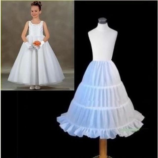 Мусора девушки аксессуары-юбки для платья 3 обручи длина 57 см нижняя кринолайн свадебные ...