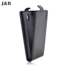 J&R Brand For Lenovo S660 Case Luxury PU Leather Cover For Lenovo S660 Flip Style 9 Colors in Stock Black Red Color