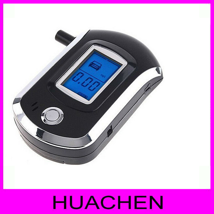 9126 Car Styling Car Gadget 2015 New At6000 Digital Breath Alcohol Tester Professional Mini for Police Lcd Screen Breathalyzer(China (Mainland))