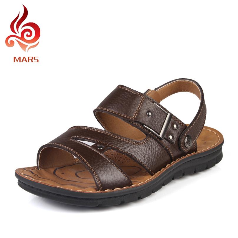 Summer Mens Cow Split Slides Sandals Men Shoes Slides Summer Flip Flops Slides Beach Men Fashion New Sapatos Size 38-43 LBN99811(China (Mainland))