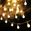 2016 Hot Fairy 10M led string lights with 80led ball AC220V holiday decoration lamp Festival Christmas