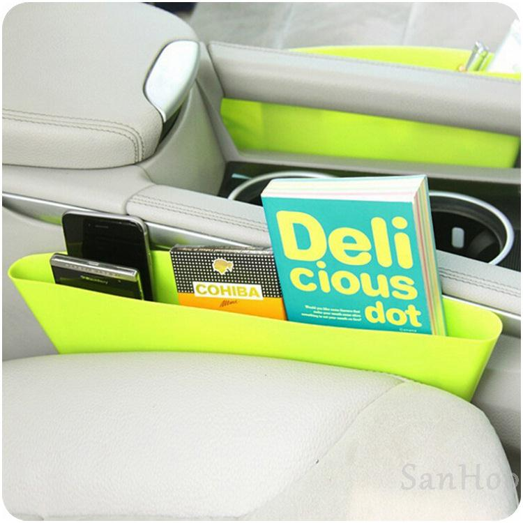 Quality 1pcs Car Creative Storage box catch caddy Car Interior Accessories Storage Organizer Pockets Car Seat Gap Storage Box(China (Mainland))
