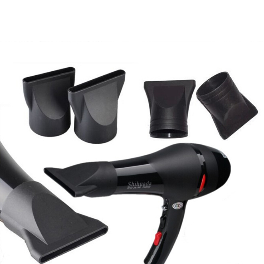 Hair Dryer Nozzle Not Easy To Break Thermo Blow Dry Hair Dryer Nozzle Black