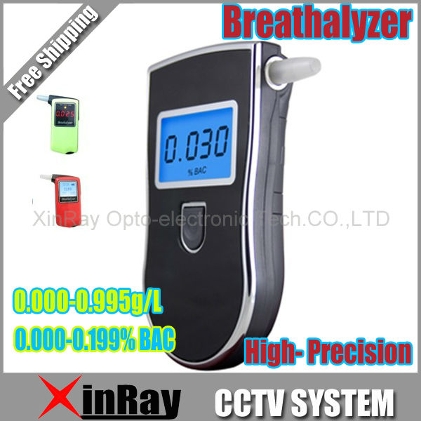 2015 NEW Hot selling Professional Police Digital Breath Alcohol Tester Breathalyzer AT818 Free shipping Dropshipping(China (Mainland))