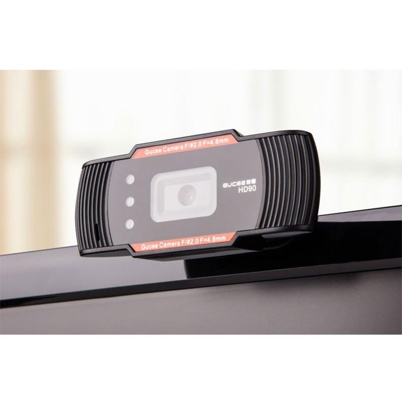 Auto Focus 640X480 60fps HD 720P Digital USB 3 LED Web Webcam Camera with Mic For Desktop PC Laptop Skype MSN Video Game(China (Mainland))