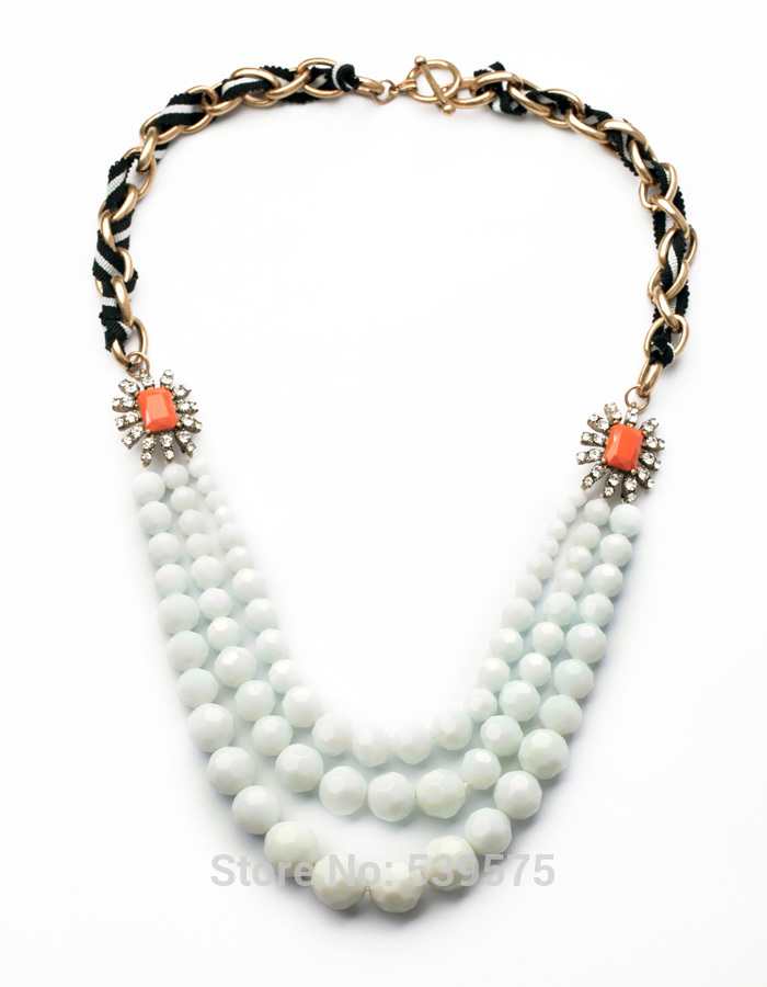 Online buy wholesale fake pearl necklace from china fake for Cheap fake jewelry online