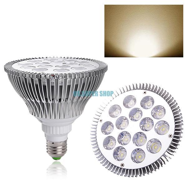 85-265V 30W Energy Saving E27 PAR38 LED Light Screw Bulb Fitting Cool White EB2533(China (Mainland))
