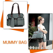 Baby Bag Diaper Maternity for Mom Nappy Mother Changing and Mummy Fashion brand Designer to stuff multifunctional(China (Mainland))
