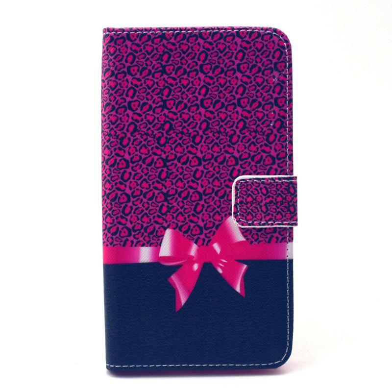 30 pcs/lot Retro Landscape Wallet Leather Case Card Slot Stand LG G4