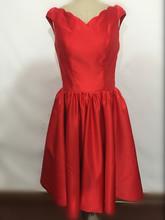 Best-selling V-neck sleeveless dress dress long satin fashion ladies formal bridesmaid dress custom free shipping(China (Mainland))