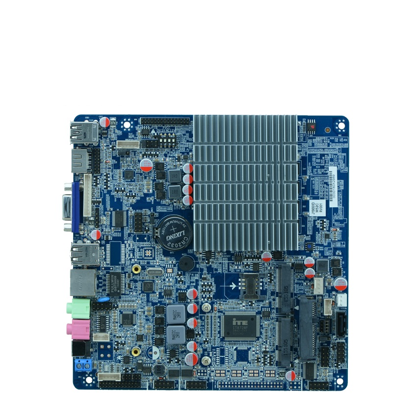 Celeron Processor J1900 motherboard with 2*LVDS, 4G ddr3 mini computer motherboard, nano itx motherboard 2.0GHZ(China (Mainland))