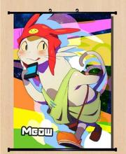 Space Dandy Dandy's Meow Home Decor Anime Japanese Poster Wall Scroll Hot B004