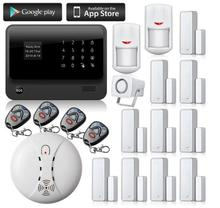 Freeshipping by DHL alarmas gsm casa Wireless & Wired GSM Home Security Alarm System,gsm alarm,alarm systems security home