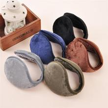 New arrival 1 pcs 5 Color warm plush cloth Ear Muffs Winter Ear warmers Mens or Womens Fleece Warmer Earmuffs free shipping(China (Mainland))