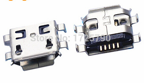 Free Shipping 10pcs Micro USB 5pin B type Female Connector For Mobile Phone Micro USB Jack Connector 5 pin Charging Socket(China (Mainland))