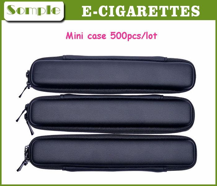 E Cig Mini Slim Case Mini Zipper Bag E Cigarette Mini Small Size Carry Case For E-Cig Fit Almost Cigarettes Use 500pcs/lot(China (Mainland))