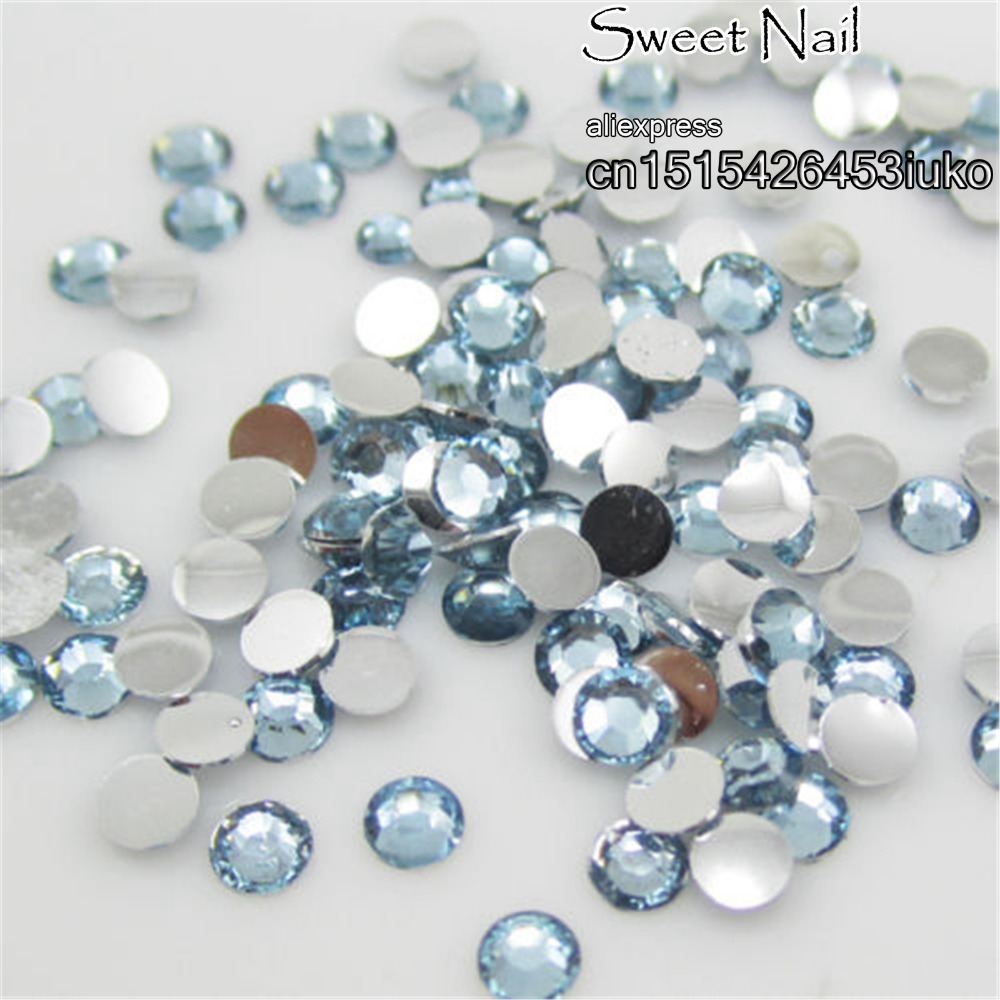 1000 pcs 2mm Light Blue 14 Facets Resin Round Rhinestone Sparkling Rhinestones Nail Art Decoration DIY N12<br><br>Aliexpress