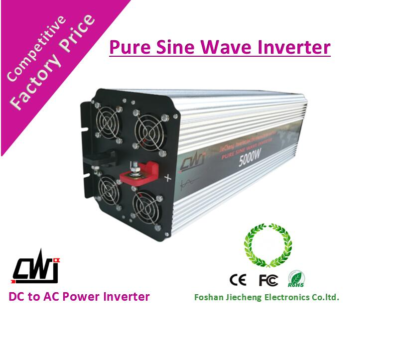 5000W 48v dc ac inverter /with CE&FC&Rohs certification/high quality low price from china manufacturer(China (Mainland))