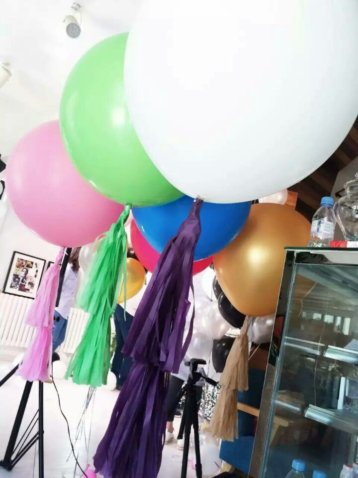 Biggest!! 10pcs/lot News ballons 36inch big baloon wedding decoration Children's toy 100%latex balloons(China (Mainland))