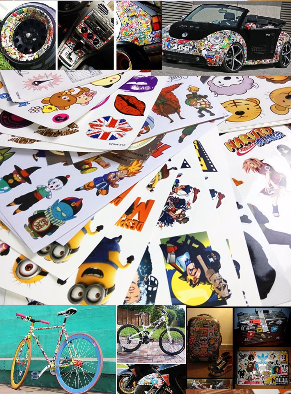 Papel de parede Wallpaper Wall stickers (10PCS*A4) despicable me 2 cartoon hello kitty(China (Mainland))