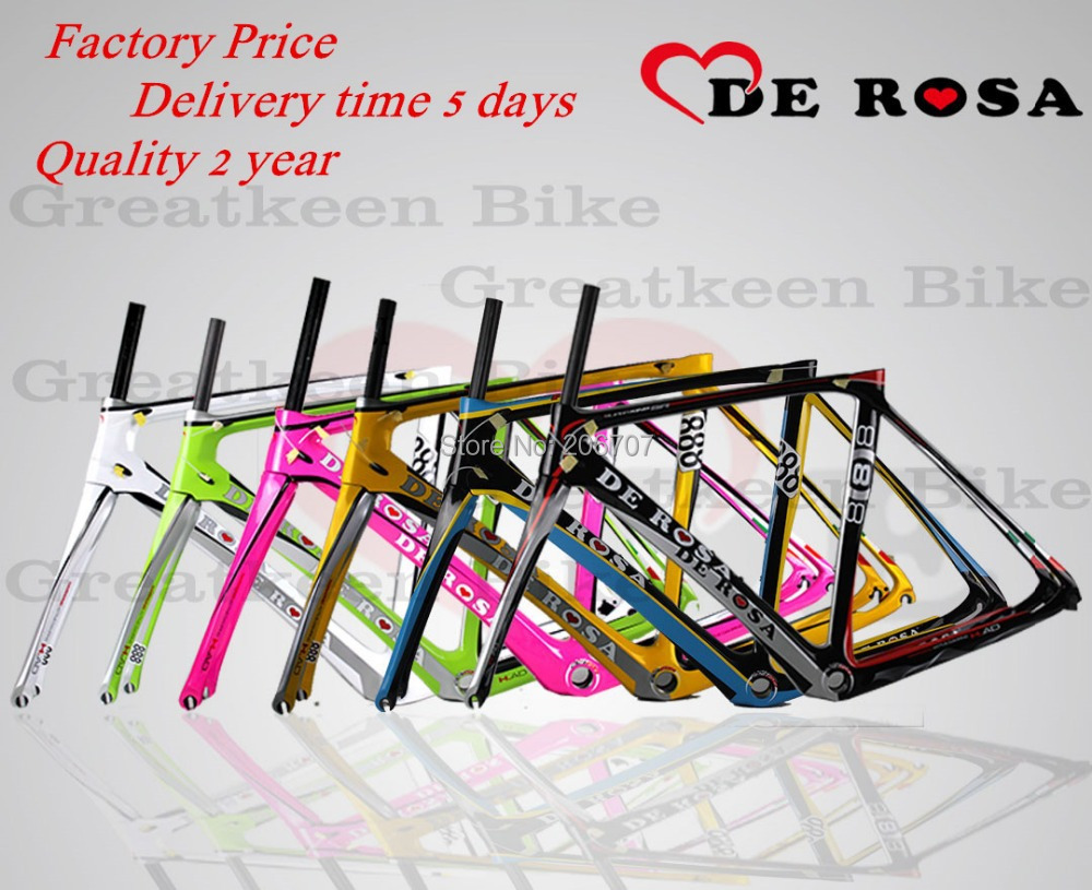 2015 De Rosa SuperKing 888 carbon bike frame carbon road frame road bike bicicleta CYCLING fork seatpost BH G6 Mendiz RST(China (Mainland))