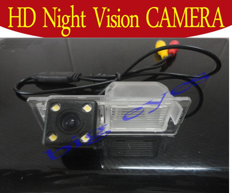 CCD 4 LED Car Rear View camera forChevrolet Aveo 2012 Trailblazer 2012 Cruze h/b wagon 2012 Opel Mokka 2012 Cadillas SRX CTS(China (Mainland))