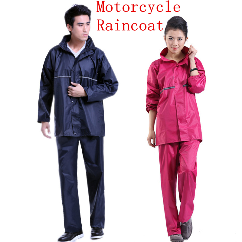Raincoat rain pants Motorcycle rain suit fishing outdoor work raincoat women and men poncho raincoats motorcycle waterproof(China (Mainland))